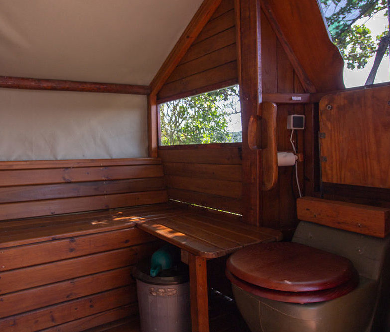 Ecosan Waterless Toilet at TT